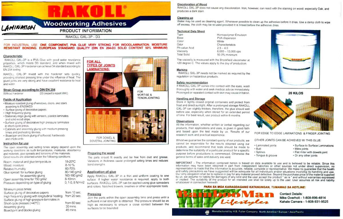 Rakol Woodworking Adhesive